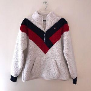 PacSun Tommy Hilfiger Sherpa Sweatshirt